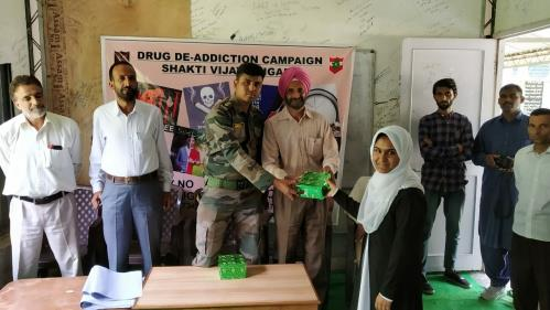 Poster painting competition on drug Abuse